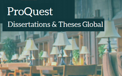 proquest dissertations and theses global Proquest dissertation & theses global (pqdt global) has an extensive collection of 38 million graduate works (both dissertations and theses), with 17 million in full text.